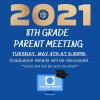 8TH GRADE PARENT MEETING / REUNIÓN DE PADRES DEL OCTAVO GRADO