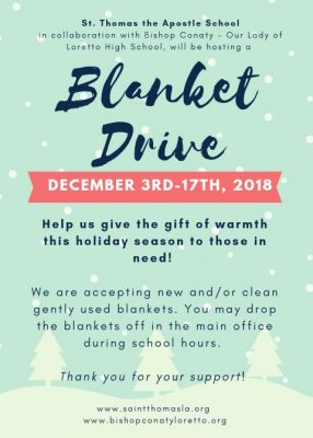 Blanket Drive 2018