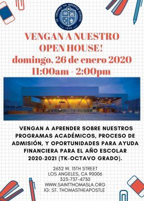Open House 2020 - SPA