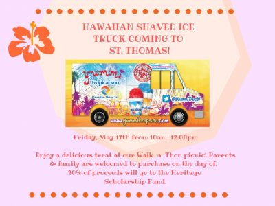 Shaved Ice Truck flyer
