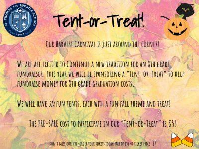 Tent or Treat Parent Letter